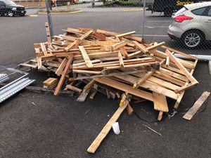 Free wood for Sale in Tacoma, WA