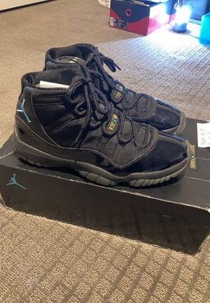 Jordan 11 gamma blue size 10.5 excellent condition OG all for Sale in Chula Vista, CA