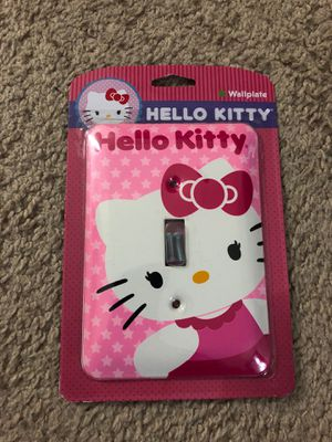 "Hello kitty ""Wallplate"" for Sale in Silver Spring, MD"