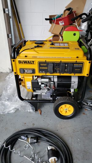 Dewalt DXGNR8000 brand new commercial generator for Sale in Deltona, FL