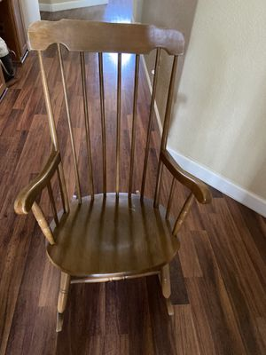 Wood Rocking Chair for Sale in Davis, CA