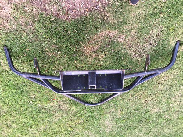 4Runner Steel bumper