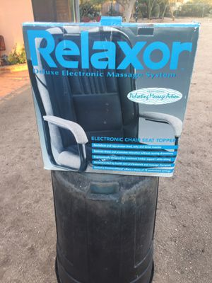 Relaxor Deluxe Electronic Massage System Seat Topper for Sale in Tucson, AZ