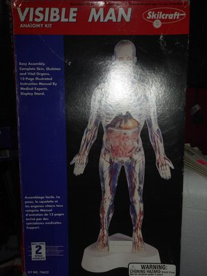 Visible Man Anatomy Kit for Sale in Tacoma, WA