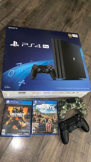 PS4 pro for Sale in Aurora, IL