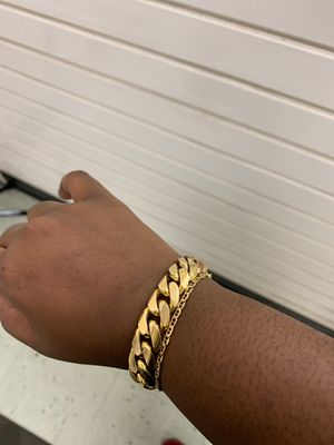 Cuban Link Bracelet for Sale in Fort Lauderdale, FL