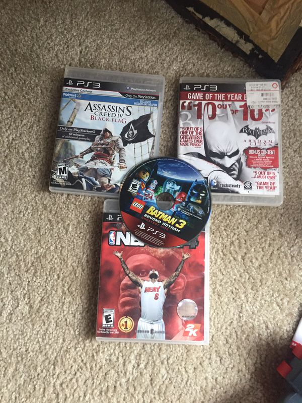 Kids toys and PlayStation games