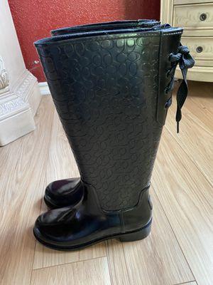 Coach Rain-boots for Sale in San Antonio, TX