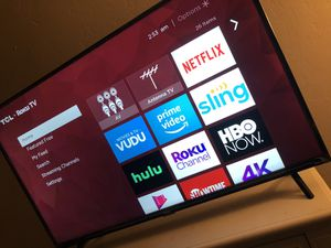43 Inch Tcl Roku Smart Tv for Sale in Tucson, AZ