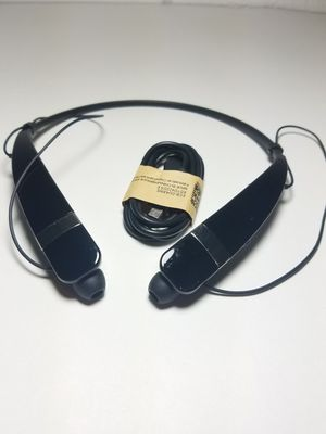 LG Tone Pro HBS-760 Bluetooth Wireless Stereo Headset - Black for Sale in Canton, MI