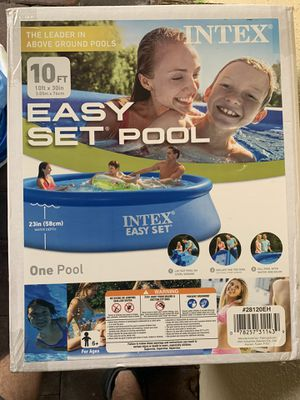 Heavy Duty Intex Pool 10foot x 23 inch deep for Sale in Jupiter, FL