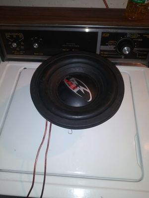 10 inch punch subwoofer 500w RMS 1000 Watts Max for Sale in Detroit, MI