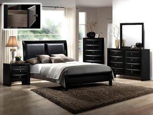 Emily Black Panhel Bedroom Set for Sale in Baltimore, MD