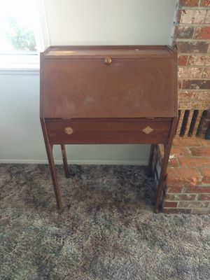 Solid Wood Secretary Desk for Sale in Portland, OR