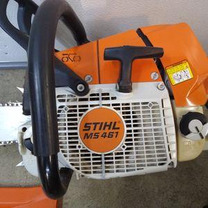 Stihl MS 461 R Pro Saw for Sale in Federal Way, WA