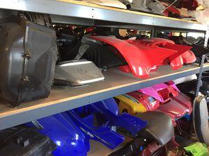 Honda Kawasaki Yamaha ATV 4X4 Fenders TRX400 YFM660 Grizzly TRX250X KEF300 Brute Force 750 Raptor YFM125 for Sale in Fontana, CA