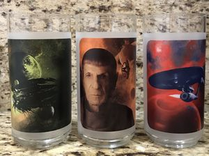 "SET OF 3 ""STAR TREK"" 2009 MOVIE GLASSES for Sale in Modesto, CA"