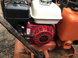 plate compactor with new motor for Sale in Woodstock, GA