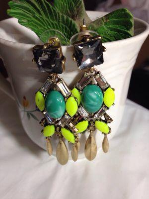Dangle cocktail earrings for Sale in Dallas, TX