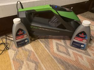 Bissel Pet Stain Spot Cleaner for Carpets for Sale in Cleveland, OH
