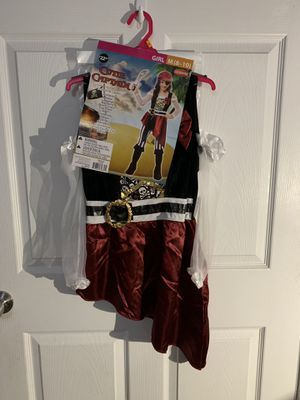 Girls Cute Captain (pirate) costume for Sale in Kannapolis, NC
