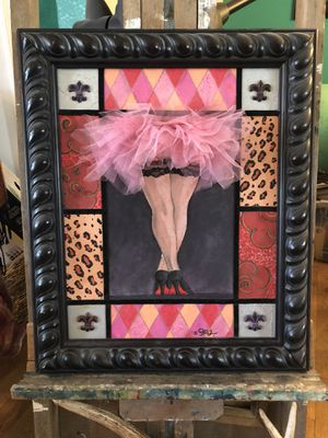 Multimedia painting for Sale in San Angelo, TX