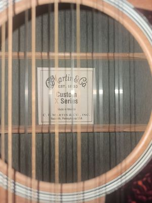 Martin Custom X Series 12 String Electro-Acoustic - $600 (Boston) for Sale in Boston, MA