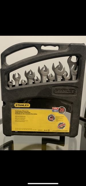 New wrench set SAE/Metric for Sale in Hazel Park, MI