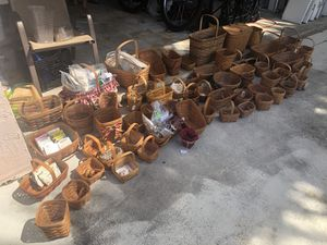 Handmade Longaberger Baskets for Sale in Miami, FL