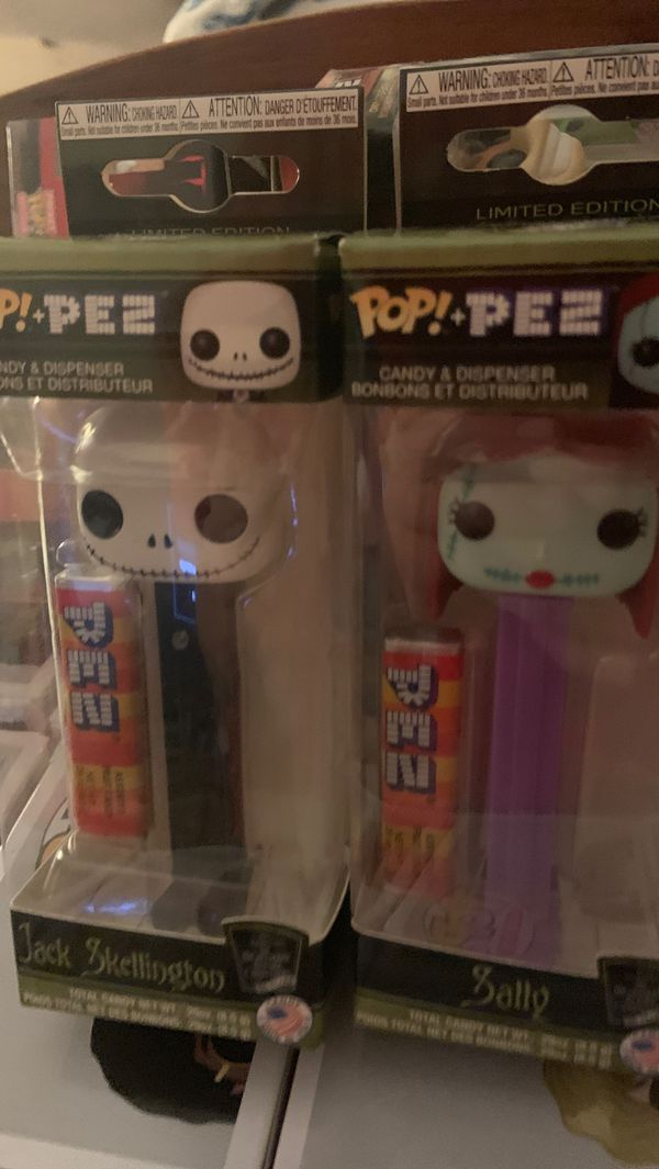 Funko pop pez nightmare before Christmas set