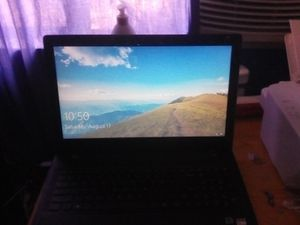Lenovo laptop black and flat for Sale in Moreno Valley, CA
