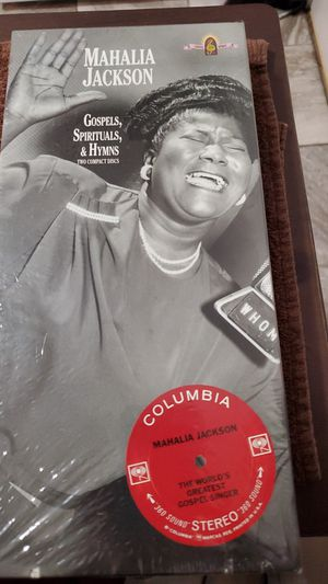 Mahalia Jackson, Gos,spiritual & Hymns 2 disc for Sale in Warren, MI