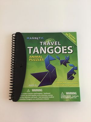 Tangoes magnetic shape puzzle game for Sale in Everett, WA