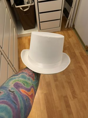 White top hat for Sale in Las Vegas, NV