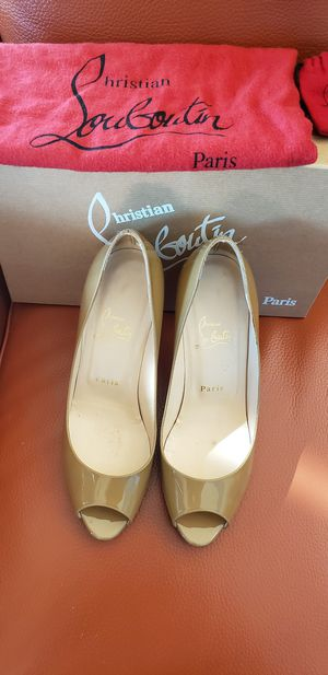 Louboutin peep toe pumps for Sale in Arlington, VA