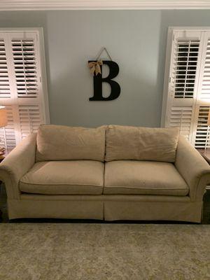 Plush over size sofa. Perfect for college apartment. for Sale in Virginia Beach, VA