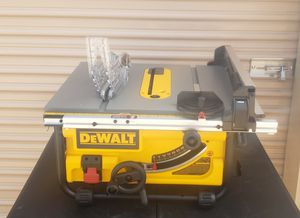 """Dewalt 10"""" Table Saw for Sale in Irving, TX"""