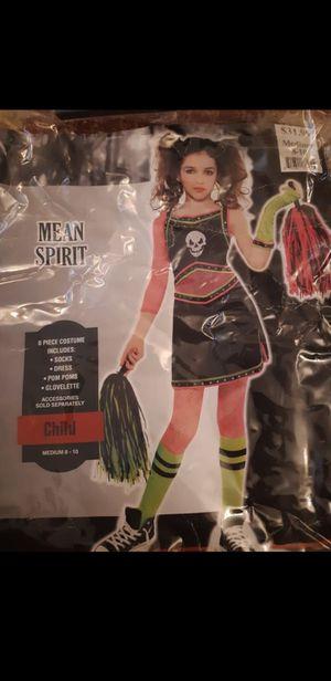 Girls mean spirit costume for Sale in San Bernardino, CA