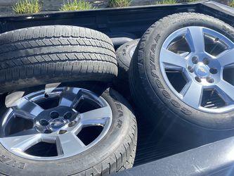 "20"" Chevrolet Silverado Wheels for Sale in Fresno,  CA"