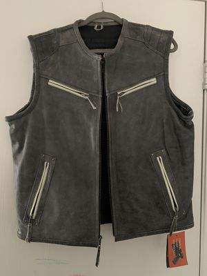 Vance Leather High Mileage Motorcycle Vest for Sale in Las Vegas, NV