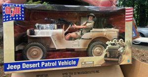 Gi Joe Desert Patrol: vehicle and figure :12 inch for Sale in Lilburn, GA