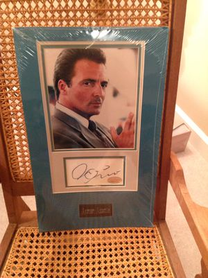 Hollywood memorabilia Armand Asante signed portrait for Sale in Tremont, IL