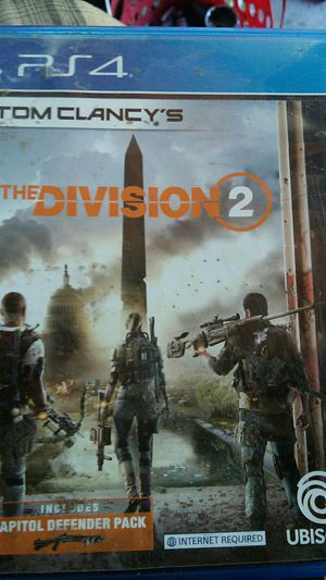 Slightly used Division 2. for Sale in Stockton, CA