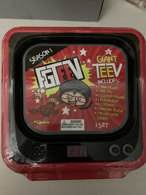 FGTeeV - GIANT TeeV - MYSTERY SET with FIGURES & TOYS - AS SEEN ON YOUTUBE - NEW for Sale in Gaithersburg, MD