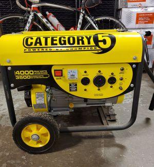 Champion Power 4000W Generator for Sale in Niles, IL