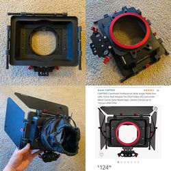 Matte Box for Video/Filmmaking DSLR Mirrorless Cinema cameras for Sale in Beverly Hills,  CA