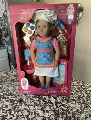 Jenny Our Generation Doll for Sale in Davis, CA