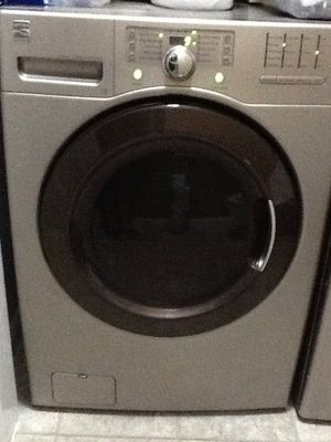 kenmore energy saver, front load washer and dryer, electric, bronze color, large capacity for Sale in Smyrna, TN