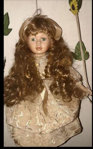 Hangable porcelain doll for Sale in Redlands, CA