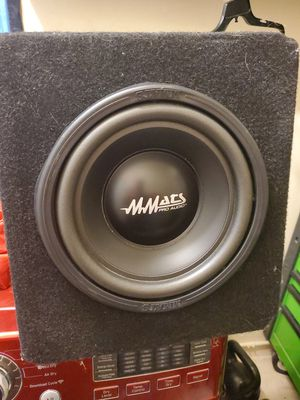 Mmats pro audio 10 in for Sale in Pompano Beach, FL